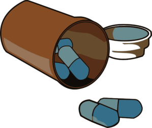 Medication Pills Clip Art