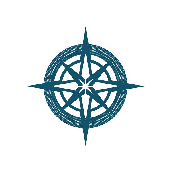 Simple Compass Rose Clip Art at Clker.com - vector clip ...