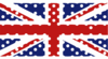 Polka Dot Union Jack Clip Art