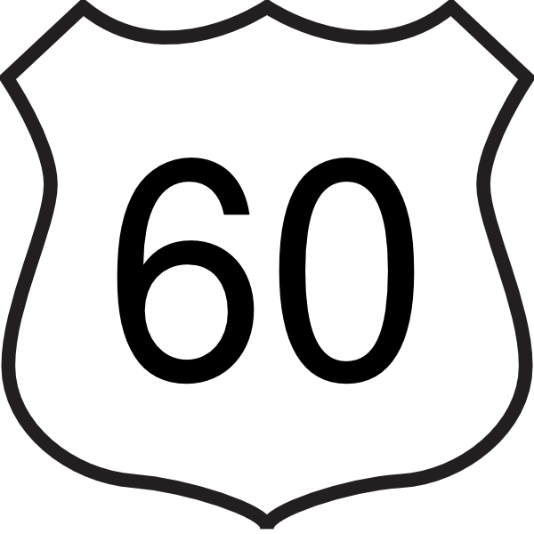 highway 60 clip art at clker com