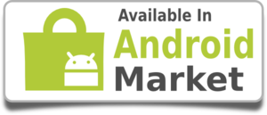 Android Market Badge  Clip Art