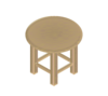 Wood Stool Clip Art