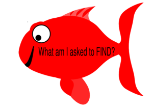 Red Happy Fish Clip Art