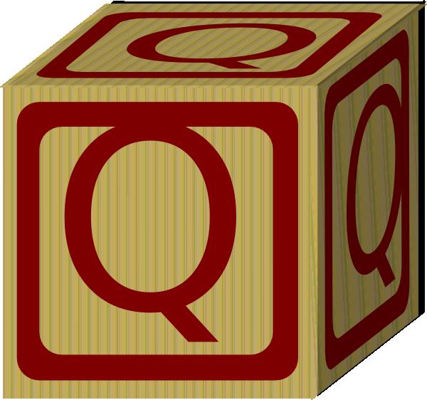 Letter Alphabet Block Q Clip Art at Clker.com - vector ...