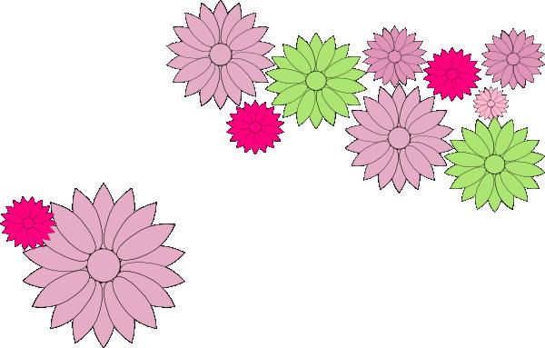 Flower Chain Clip Art