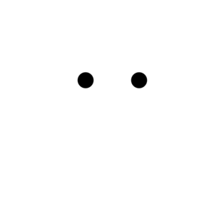 White Smiley Clip Art