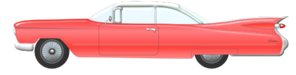 cadillac convertible 1959 clip