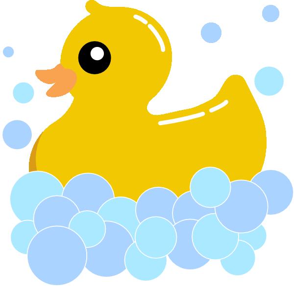 Rub Duck Bubbles Clip Art At Clker Com Vector Clip Art