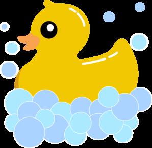 Rub Duck Bubbles Clip Art At Clker