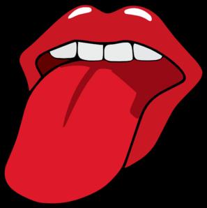 tongue clip art at clker com vector clip art online royalty free rh clker com tongue clipart gif tongue clip art images