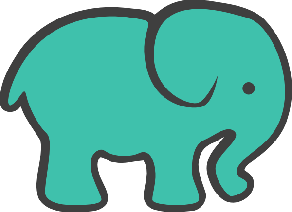 microsoft clip art elephant - photo #31