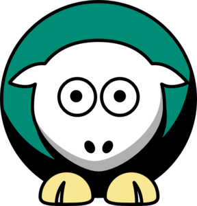 Sheep - Colorado State Rams - Team Colors - College Football Clip Art