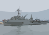 Uss Dubuque (lpd 8) Pulls Into San Diego Harbor Clip Art