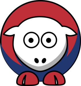 Sheep Montreal Canadiens Team Colors Clip Art