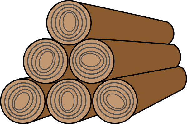 Lumber icon clip art at clker vector online