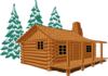 Cabin Hebrews Clip Art