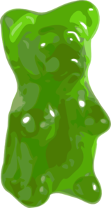 Bear Candy Gummy Clip Art