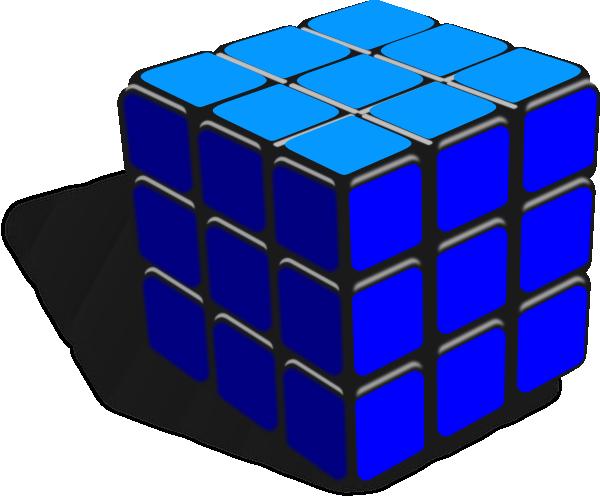 Rubik S Cube Clip Art At Clker Com Vector Clip Art