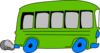 Green Bus Clip Art