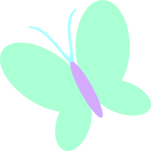 Pink And Green Butterfly Clip Art | www.pixshark.com ...