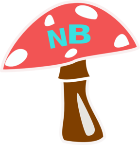 Red Top Mushroom Revised Clip Art