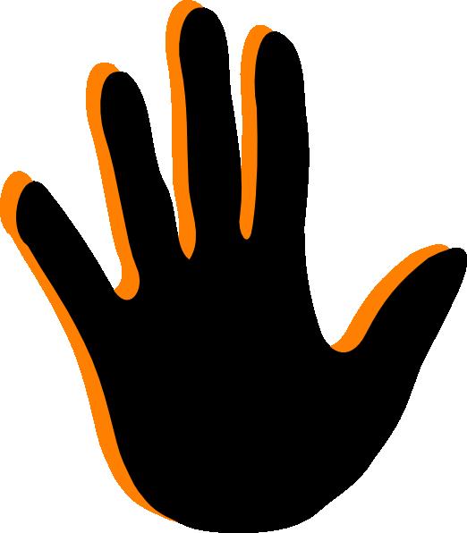 handprint clip art at clker com vector clip art online royalty rh clker com handprint clipart free download handprint clipart free download