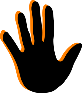 handprint clip art at clker com vector clip art online royalty rh clker com free clip art handprint border free clip art handprint border