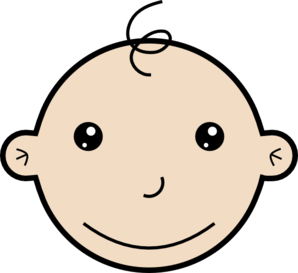 Smiling Baby Clip Art
