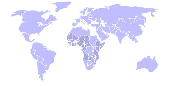map world colors clip art at clker com