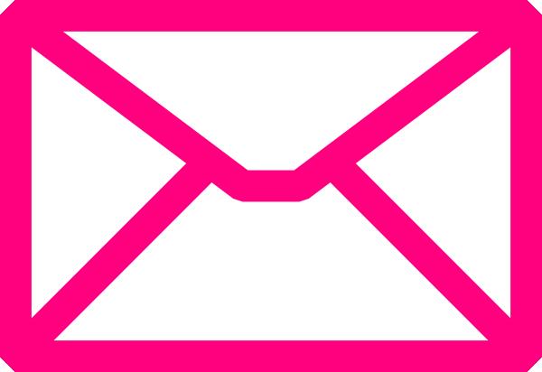 pink envelope clip art at clker com vector clip art online rh clker com Rose Clip Art Rose Clip Art