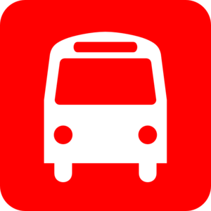 Bus Red Clip Art