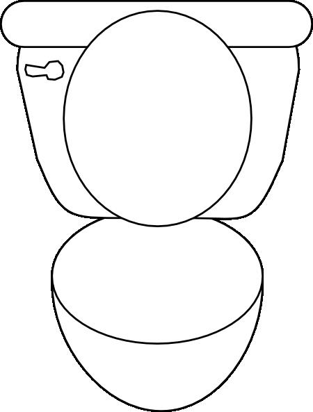 Toliet Noswirl ... Toilet Seat Vector