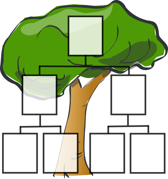 Family Tree Clip Art at Clker.com - vector clip art online, royalty ...