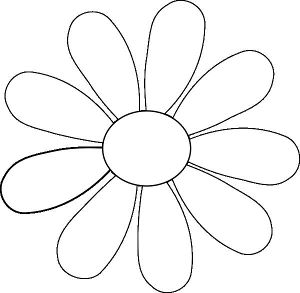 Flower Petals Line Drawing : Pin flower petal clipart on pinterest