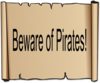 Pirate Sign Clip Art