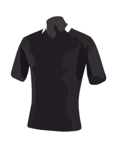 Black Polo Shirt Clip Art