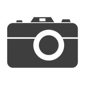 Grey Camera Icon Clip Art