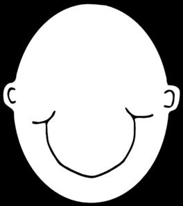 plain white head clip art at clker com vector clip art online rh clker com clipart headstone clipart headband