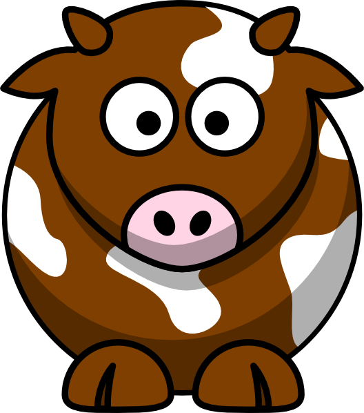 cow clipart simple - photo #47