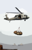An Mh-60s Knighthawk Assigned To The  Chargers  Of Helicopter Combat Support Squadron Six (hc-6), Detachment 4, Delivers Cargo To Uss George Washington (cvn 73). Clip Art