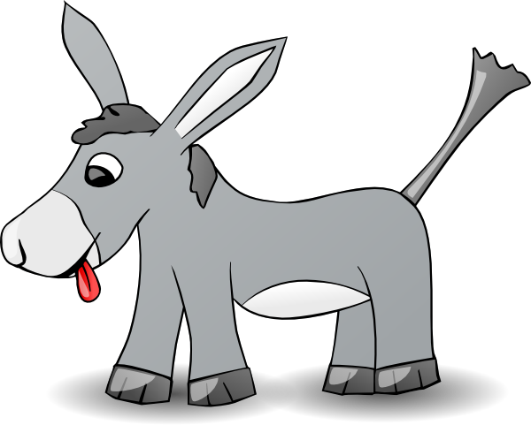 free clipart of a donkey - photo #35
