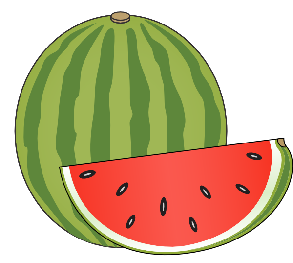 watermelon clip art at clker com vector clip art online royalty rh clker com watermelon clip art by panda watermelon clip art for kids