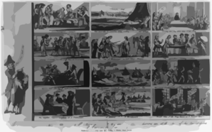 The Political Raree-show: Or A Picture Of Parties And Politics, During And At The Close Of The Last Session Of Parliament, June 1779 Clip Art