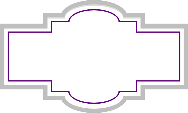 Box Label Silver Purple clip art vector clip art online royalty free