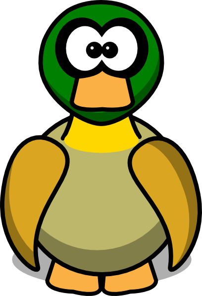 D Duck Cartoon Download this image as
