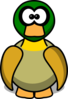 Duck Cartoon Clip Art