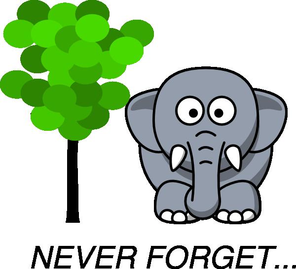 never forget clip art at clker com vector clip art online royalty rh clker com don't forget about me clipart don't forget elephant clipart