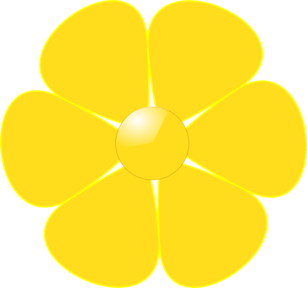 yellow flower vector png - photo #14