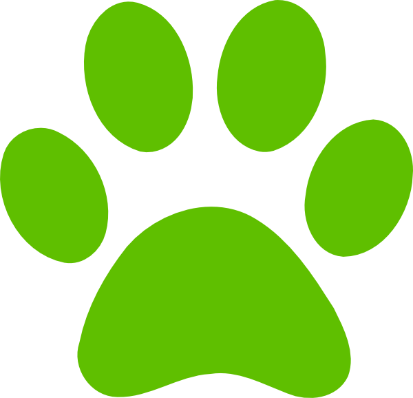 Dog Paw Clip Art at Clker.com - vector clip art online, royalty free ...