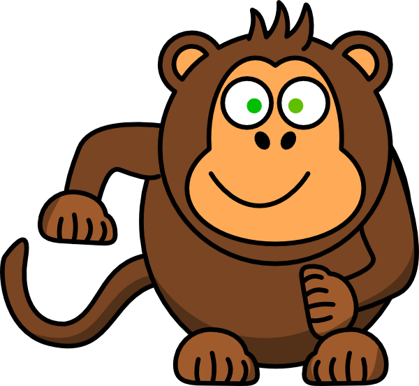 monkey clip art at clker com vector clip art online baboon clip art for kids Lion Clip Art